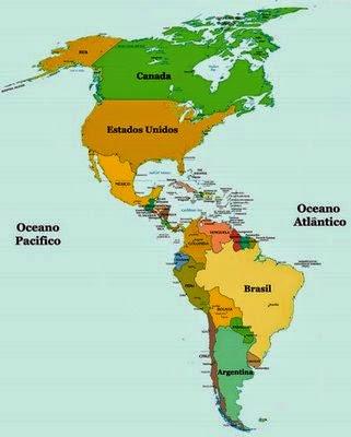 Mapa de America