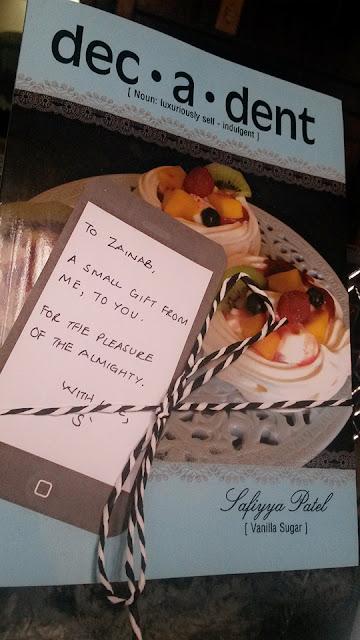 decadent, dessert, recipe, recipe book, sweet, review, recipe book review