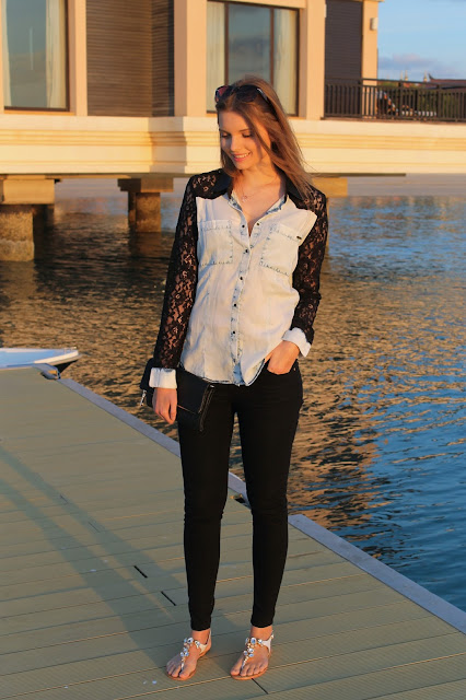 IMG 6827 - LACE BLOUSE IN JEANS