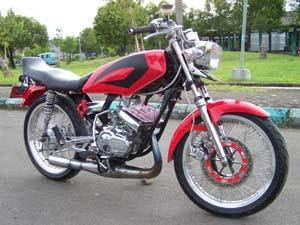 foto modifikasi motor yamaha rx king terbaru foto modifikasi motor title=