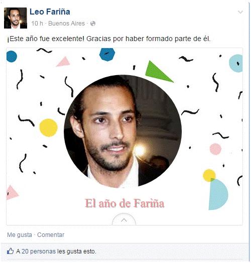 El anio de Farinia en Facebook