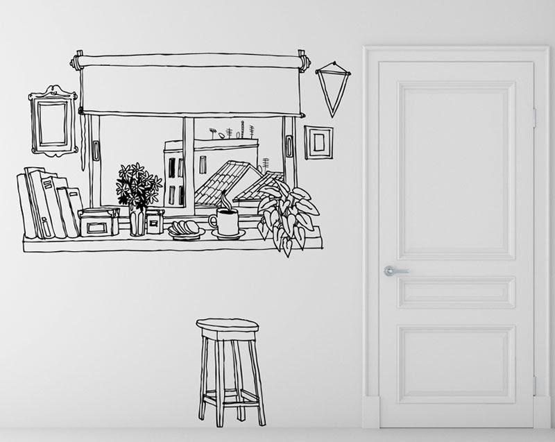 Dibujos en paredes diseos de arboles pintados en paredes - Dibujos para pintar paredes ...