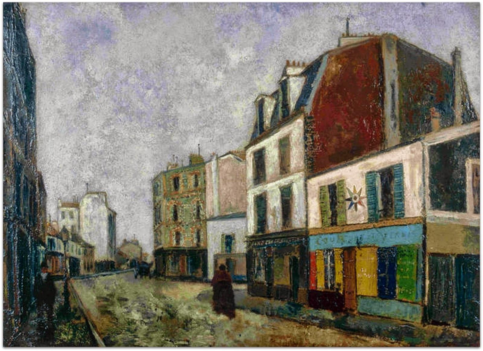 Marchand de couleurs Maurice Utrillo