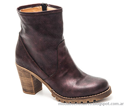Botas 2014. Moda otoño invierno 2014 calzados Traza.