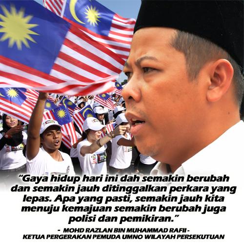 Zaman Berubah Polisi Juga Berubah Mohd Razlan