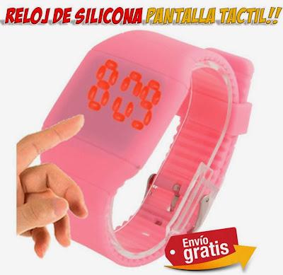 reloj led pantalla tactil