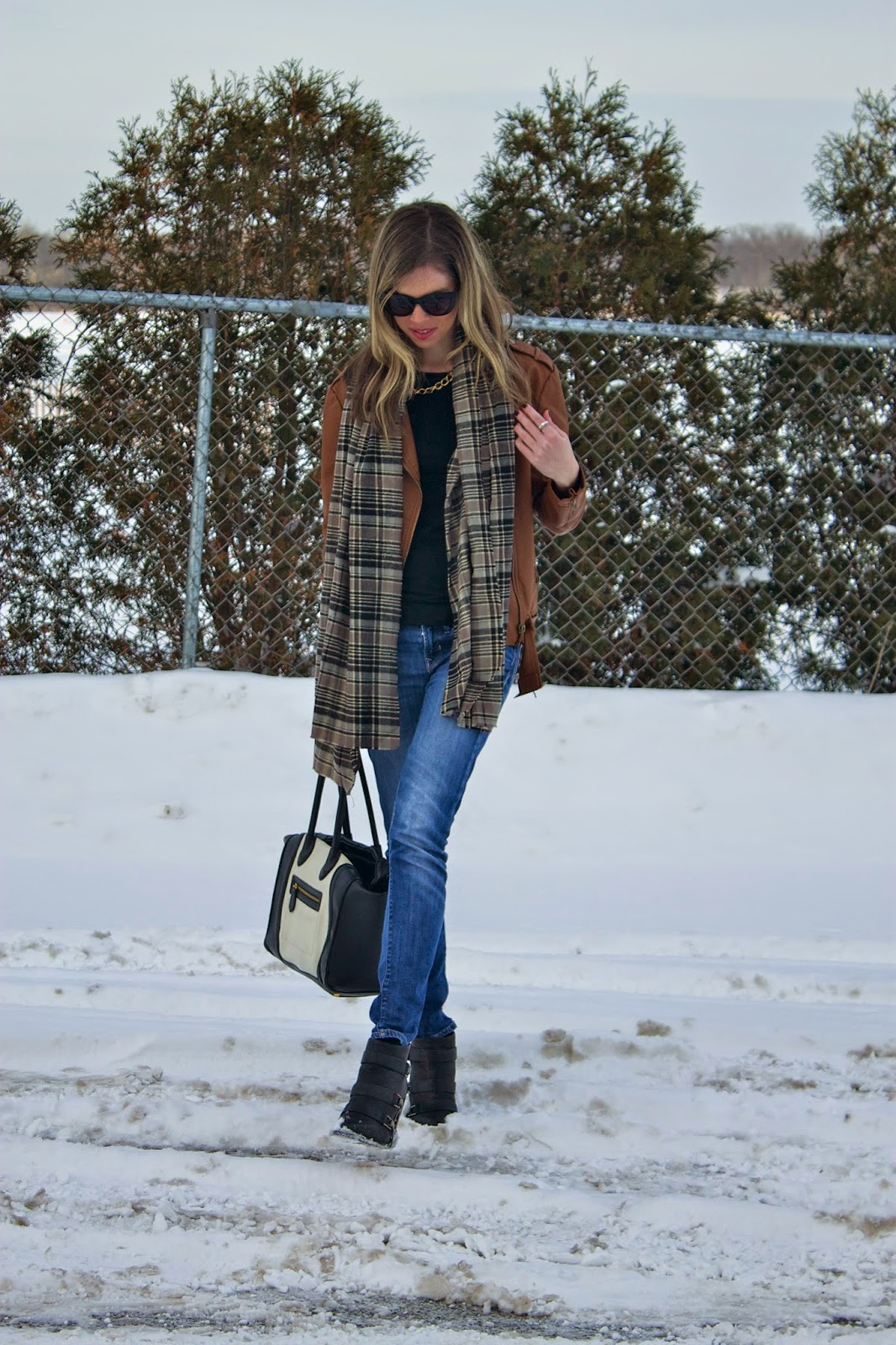Blanket Scarf, Winter Essential, Project Soiree