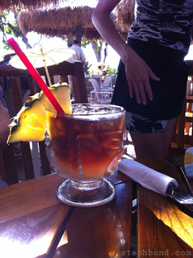 Mai Tai at the Barefoot Grill, West Maui