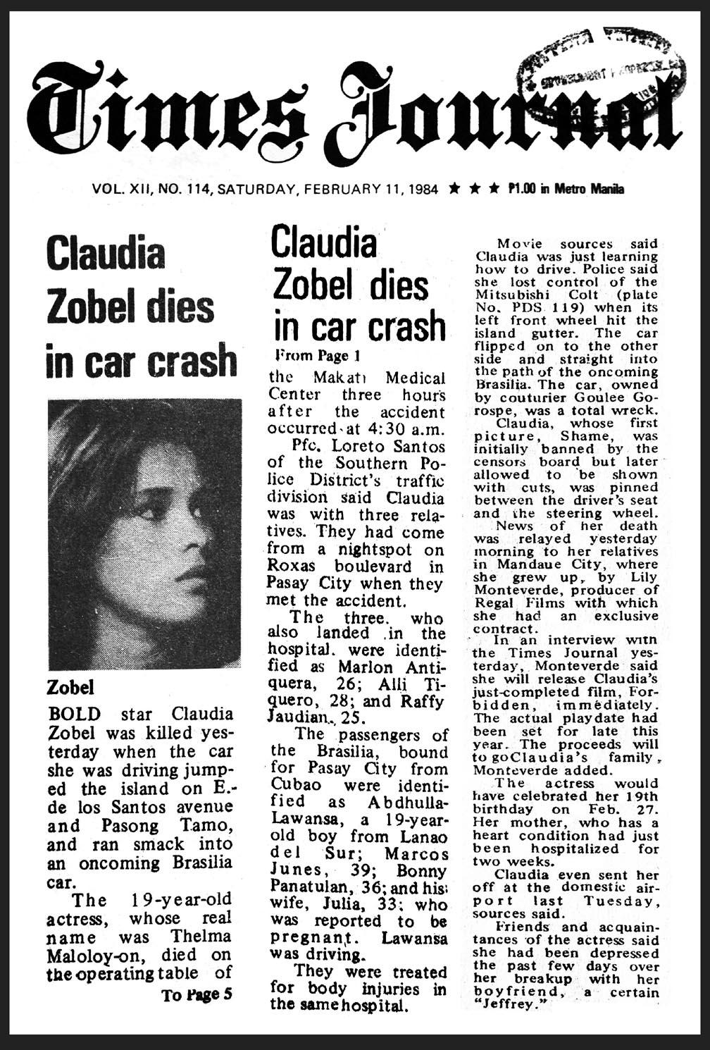 Watch Claudia Zobel (1965?984) video