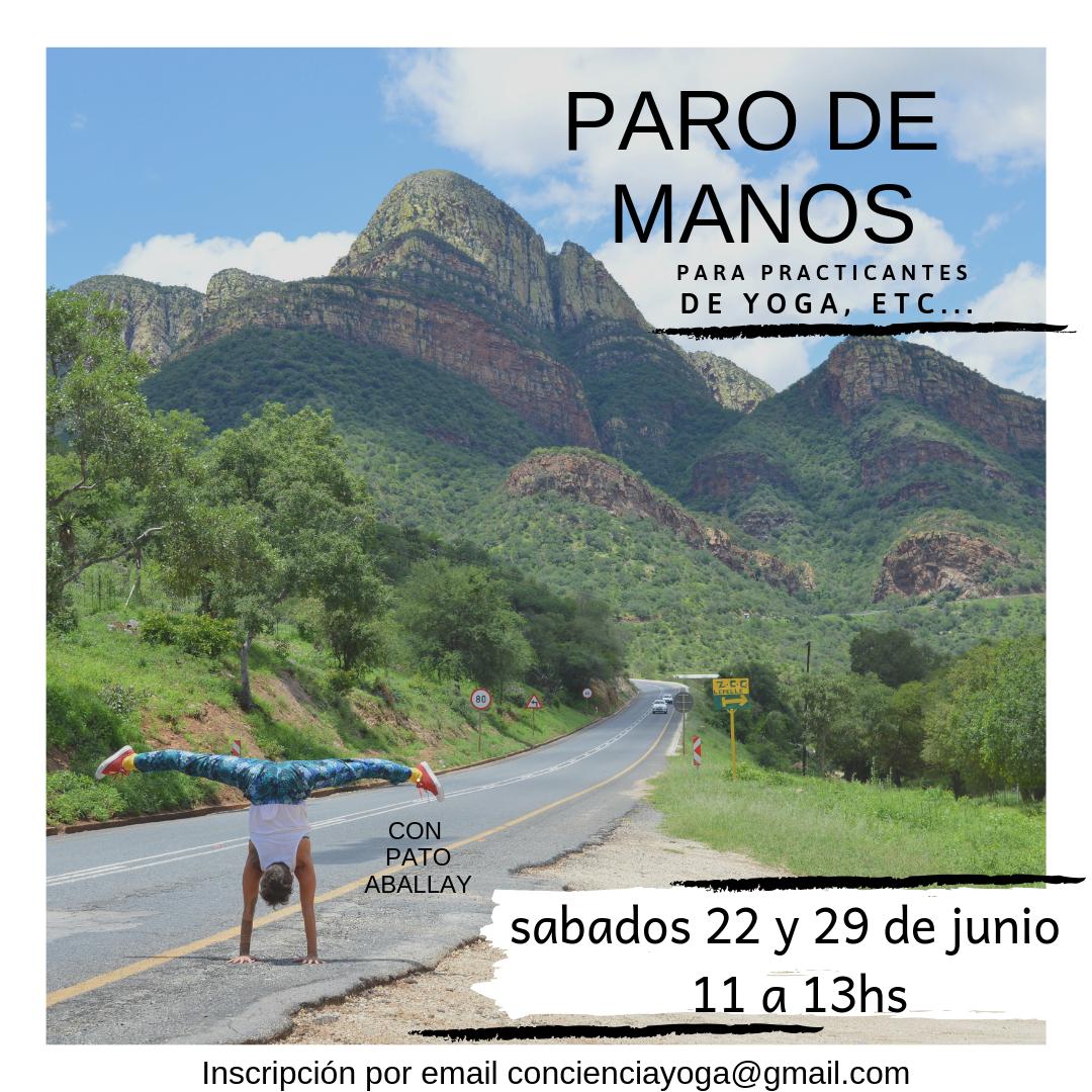 PARO DE MANOS 22 Y 29 DE JUNIO