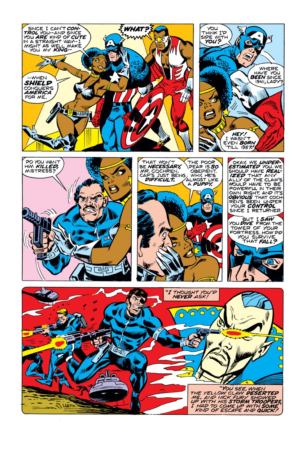 Captain America (1968) Issue #190 #104 - English 4