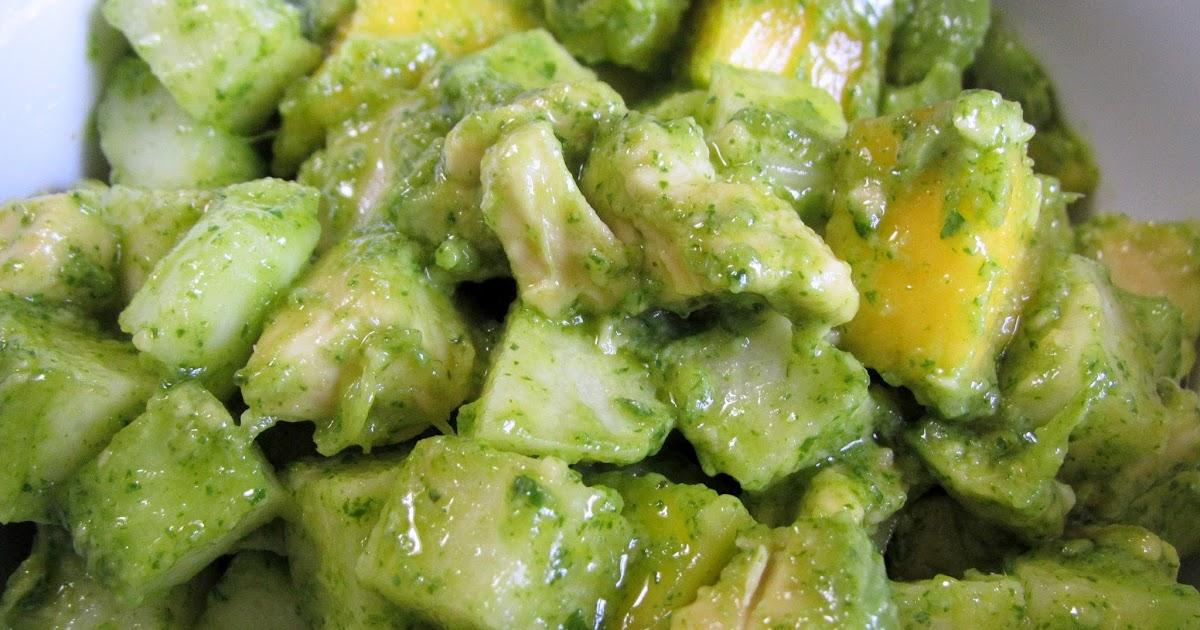 Mango, Cucumber, Jicama, and Avocado Salad Recipe (vegan / gluten free ...