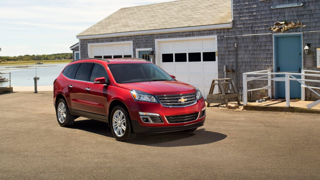 2015 Chevy Traverse Earns NHTSA 5-Star Safety Rating