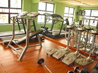 Solitude Hotel fitness centre