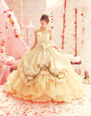 Sweet and cute wedding dresses