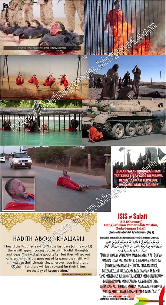 Bukti ISIS adalah Khawarij