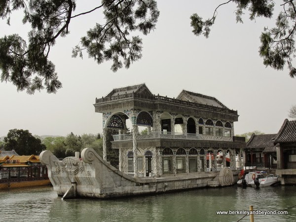 marble boat at Summer Palace in Beijing, China