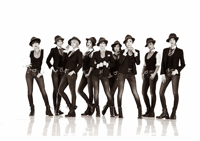 SNSD Mr Mr Fedoras