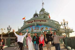 Tokyo Disneyland pusat fantasi dunia permainan yang menakjubkan | Paket Promo Tour Wisata Muslim Ke Jepang