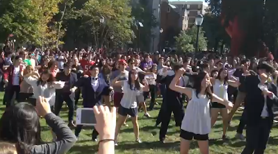 UPenn and Flash Mob and Gangnam Style