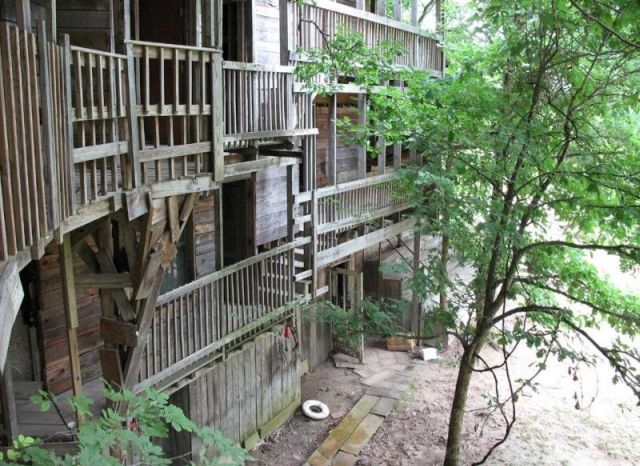 worlds largest treehouse near crossville