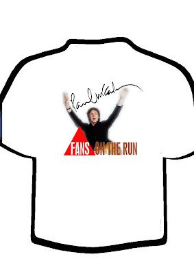 Minha camisa para o show do Paul em BH