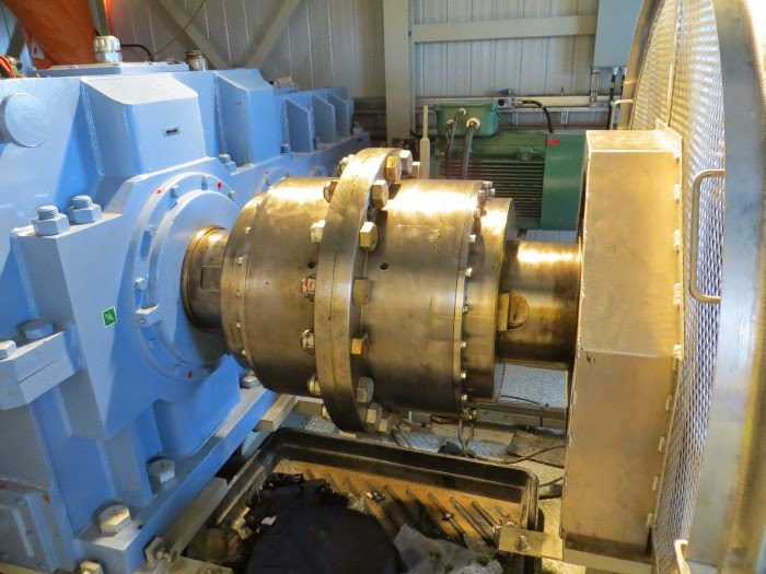 Hydroelectric Dam Gear Coupling - Lovejoy FHD 11E