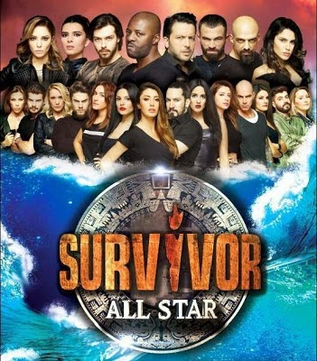 Survivor All Star 1 Mart 2015 izle