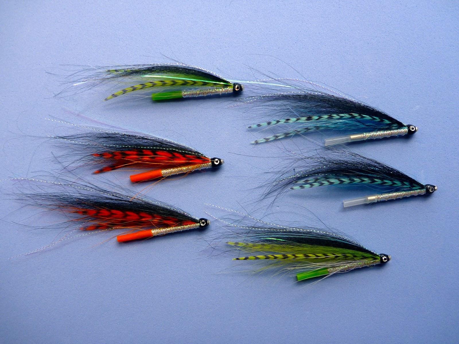 Pompier fly pattern Classic flies for Atlantic salmon fly fishing