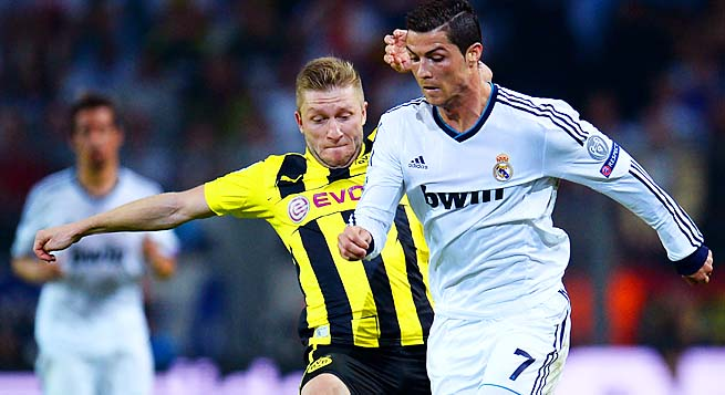 dortmund real madrid free tv