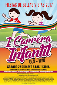 Fiestas de Bellas Vistas 2017. I Carrera Infantil
