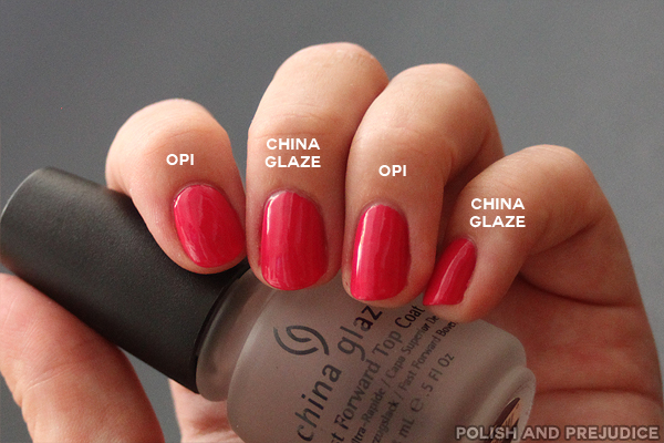 I Started Off With OPI Natural Nail Base Coat And Two Coats Of Sinful Colors Feeling Great Wanted To Use A Polish That Wasnt Or China Glaze
