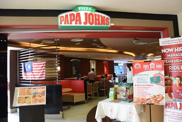 Pizza Sedap di Papa Johns Plaza Shah Alam