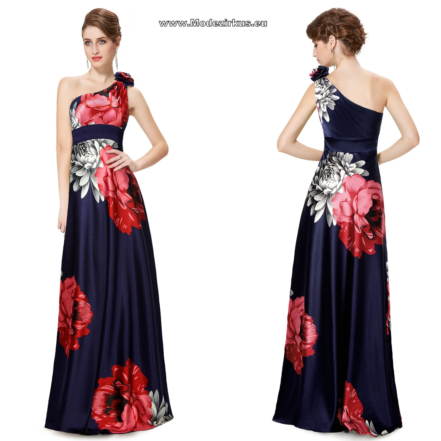 Langes empire kleid