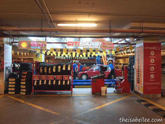 Citicars auto service in Sunway Pyramid