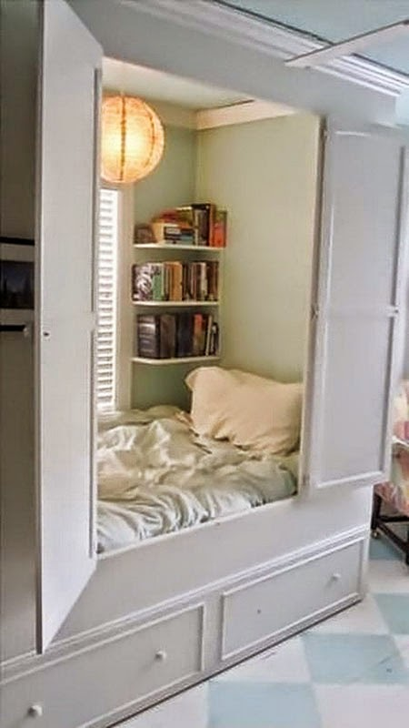 Chambre alcove for Idee amenagement chambre