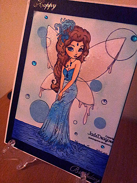 Perfectly Rustics,Jade Dragonne Water Fairy