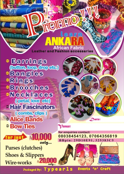 Ankara crafts training