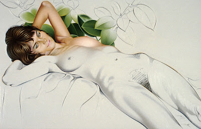 Photorealistic painted nudes of bernardo torrens 3