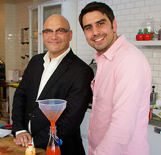 Gregg Wallace and Chris Bavin