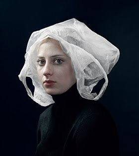 Hendrik Kersten emulates flemish paintings with photos