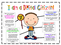 Awesome Digital Citizenship Poster for Young Learners ...