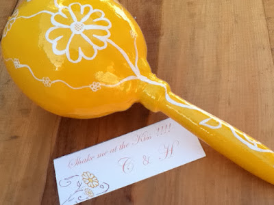 April 17th 2011 at 0447 pm handpainted maracas mexican wedding favors