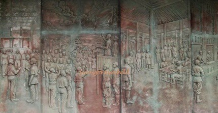 monumen tugu pahlawa surabaya, jawa timur