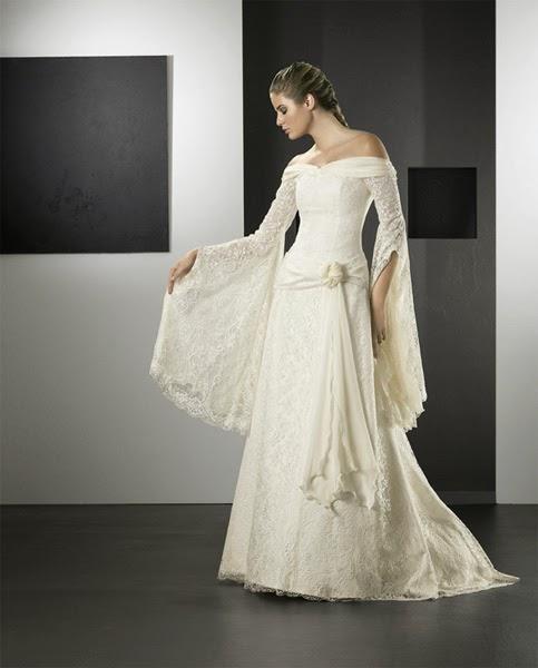 Vestidos de novia medievales pronovias