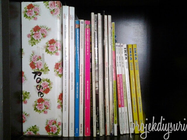 Guest Blogger DIY Magazine Holder Divider by Suri