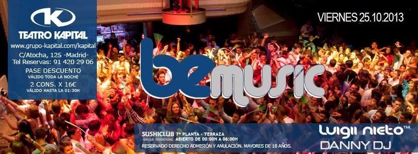 Discotecas en madrid discoteca for Kapital jueves gratis