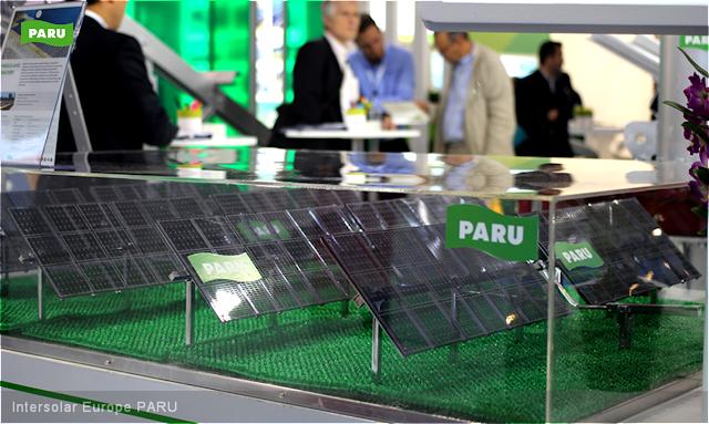 [PARU Solar Tracker] Intersolar Europe2015-05