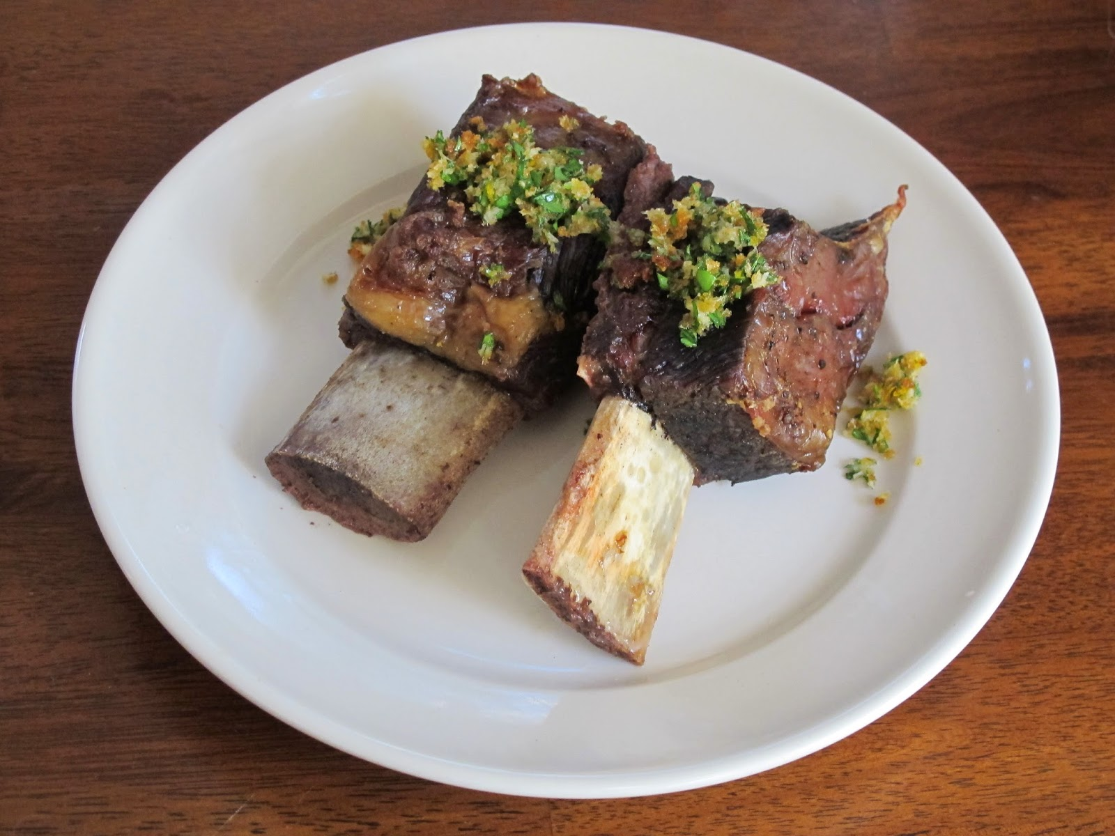 Short Ribs with Horseradish Gremolata