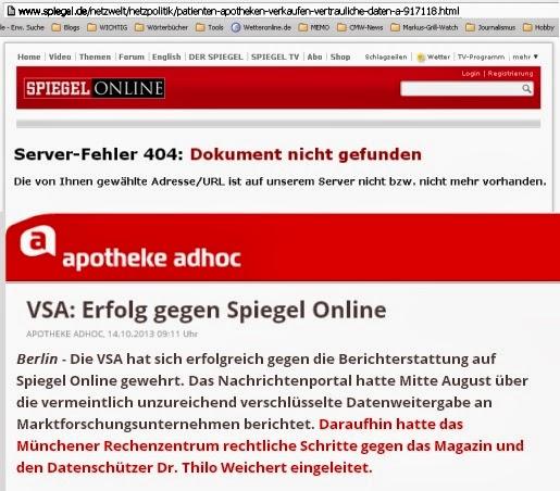 Die VSA hat sich erfolgreich gegen die Berichterstattung auf Spiegel Online gewehrt. Das Nachrichtenportal hatte Mitte August über die vermeintlich unzureichend verschlüsselte Datenweitergabe an Marktforschungsunternehmen berichtet.